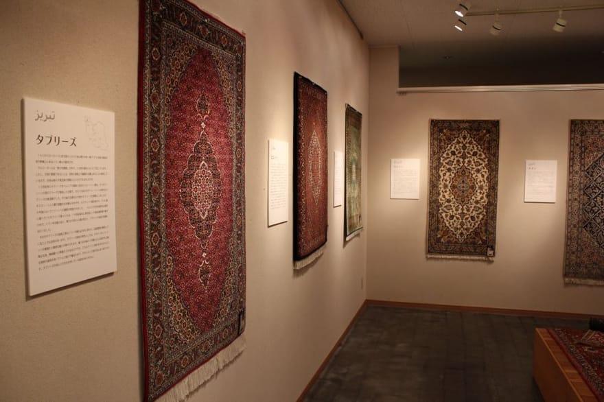 ペルシャ絨毯の柄