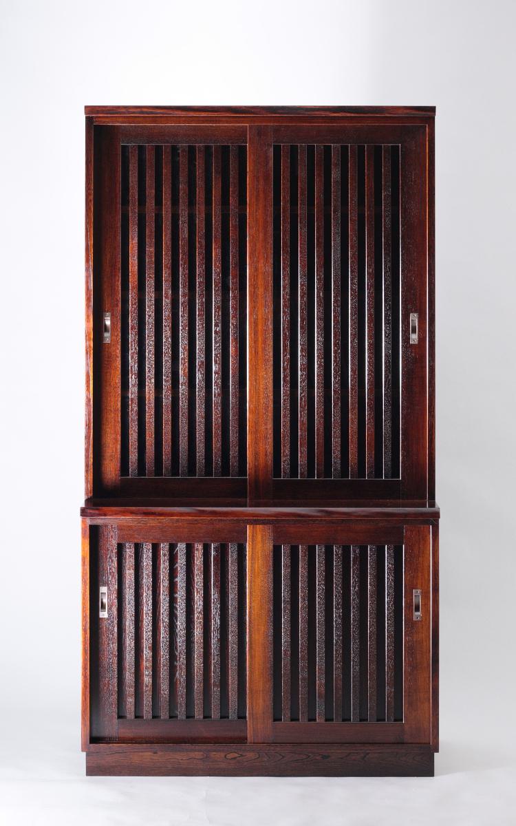 18096水屋風食器棚